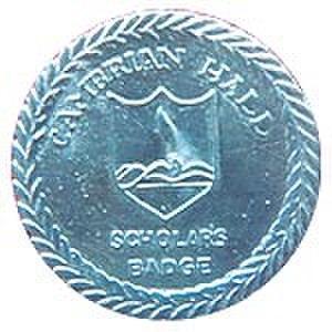 Cambrian Hall - Image: Cambrian Hall Scholar Badge
