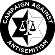 Campaign Against Antisemitism logo
