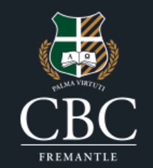 Christian Brothers College, Fremantle - Image: Cbcfremantle crest en