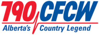 CFCW (AM) - Former logo of CFCW at 790 kHz