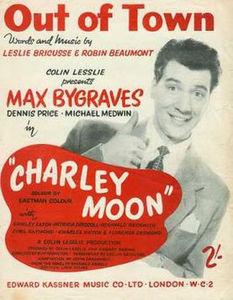 Charley Moon - Theatrical release poster (UK)