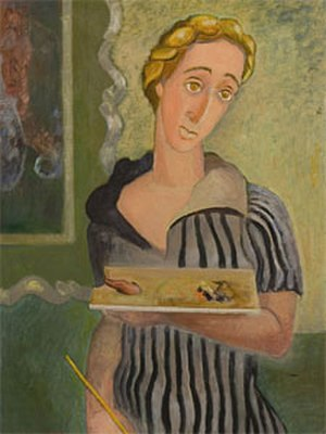 Clara Mairs - Self-portrait (1953)