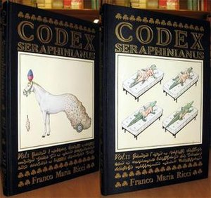 Codex Seraphinianus - The original two-volume work