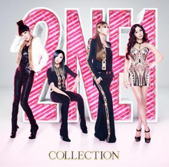 Collection (2NE1 album) - Image: Collection Regular