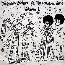 Cover of The Balistic Brothers vs. The Eccentric Afros Volume 1 album by Ballistic Brothers.jpg