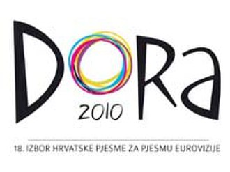 Croatia in the Eurovision Song Contest 2010 - Image: DORA2010 logog