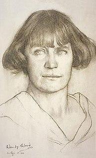 Wendy Wood (artist) Scottish political activist