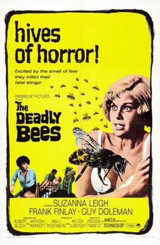 The Deadly Bees - A promotional poster for The Deadly Bees