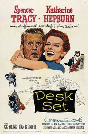 Desk Set - Original cinema poster