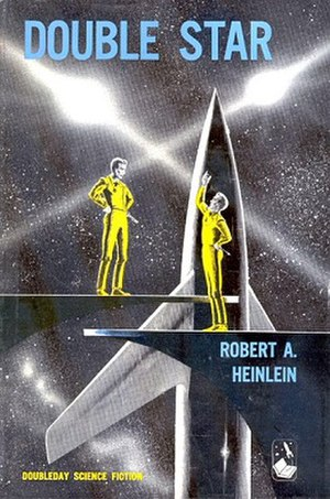 Double Star - First Edition cover of Double Star