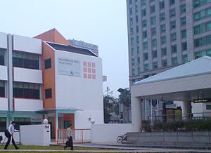 Downtown MRT Line - LTA's Downtown Line (Stage 1) project office next to Bugis MRT station.