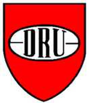 Denmark national rugby union team - Image: Dru logo