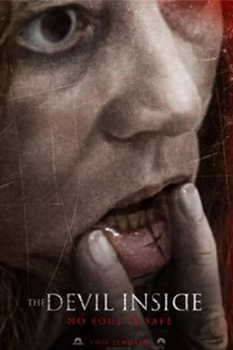 The Devil Inside (film) - Theatrical release poster