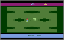 Screenshot of the E.T. video game