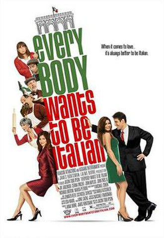 Everybody Wants to Be Italian - Original poster