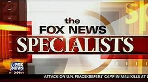 Fox News Specialists - Image: FNC Specialists title card