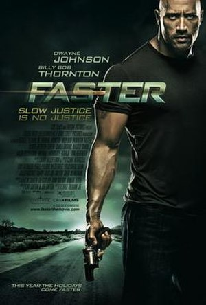 Faster (2010 film) - Theatrical release poster