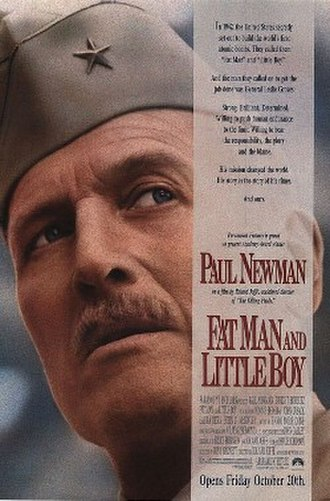 Fat Man and Little Boy - Original film poster
