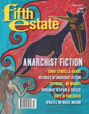 Fifth Estate (periodical) - Cover of issue 385, Fall 2011