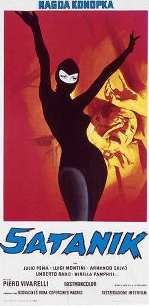 Satanik (film) - Image: Filmposter satanik 1968