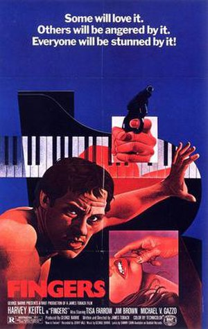 Fingers (1978 film) - Theatrical poster