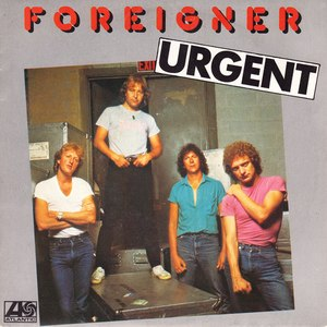 Urgent (song) - Image: Foreigner Urgent album