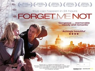 Forget Me Not (2010 British film) - Image: Forget Me Not 2010 UK poster
