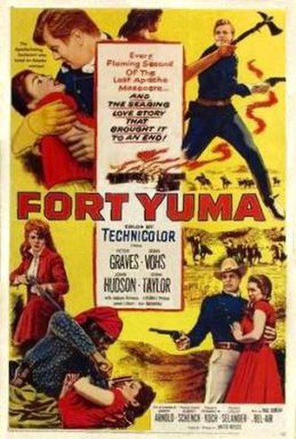 Fort Yuma (film) - Film poster