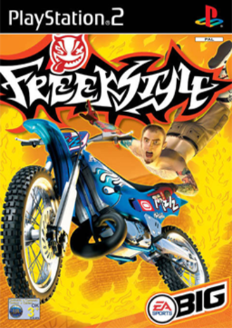 Freekstyle - PAL region cover art for PlayStation 2 Mike Metzger, pictured