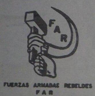 Guatemalan National Revolutionary Unity - Image: Fuerzas Armadas Rebeldes (emblem)