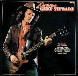 20 of the Best (Gary Stewart album) - Image: Gary Stewart 20 golden Greats