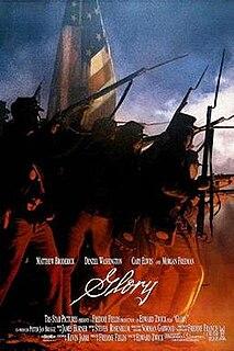 <i>Glory</i> (1989 film) 1989 American drama war film directed by Edward Zwick