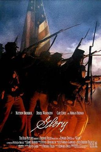 Glory (1989 film) - Theatrical release poster