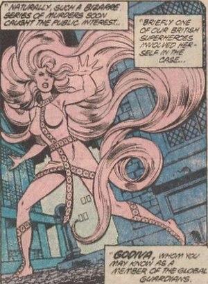 Godiva (comics) - Image: Godiva (comics) Dorcas Leigh