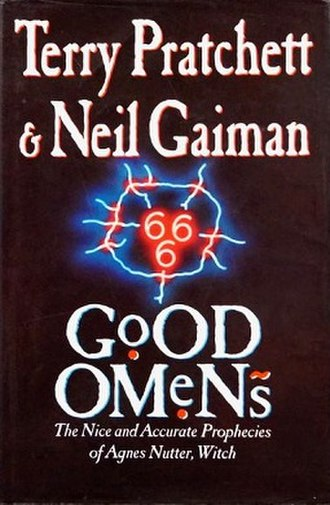 Good Omens - 1st edition cover