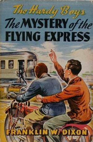 The Mystery of the Flying Express - Original edition