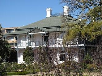 Parktown mansions - Hazeldene Hall