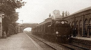 Henfield railway station 1909.jpg