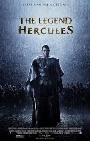 The Legend of Hercules - Image: Hercules (2014 film) poster