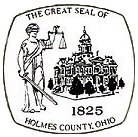 Seal of Holmes County, Ohio