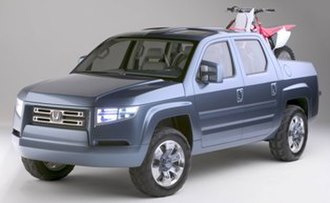Honda Ridgeline - Honda's Sport Utility Truck Concept (2004)