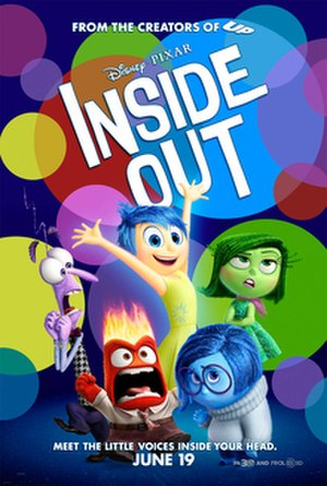 Inside Out (2015 film) - Theatrical release poster