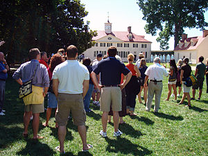 James Madison Memorial Fellowship Foundation - James Madison Fellows as they tour Mt. Vernon.
