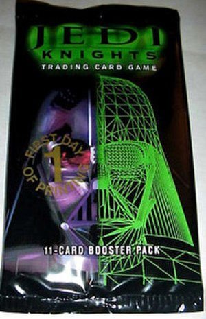 Jedi Knights Trading Card Game - Jedi Knights TCG booster pack