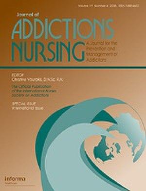 Journal of Addictions Nursing - Image: Journal of Addictions Nursing