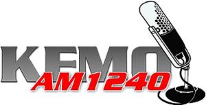 KFMO - Image: KFMO AM 1240 radio logo