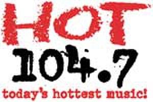 KKLS-FM - Hot 104.7 logo