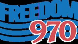 KUFO (AM) - Image: KUFO Freedom 970 logo