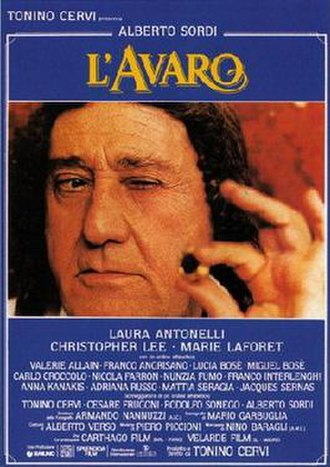 The Miser (1990 film) - Image: L'avaro