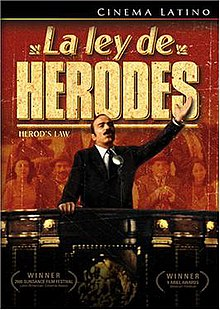 La Ley De Herodes (Herod's Law) 1999 Mexican film DVD cover.jpg